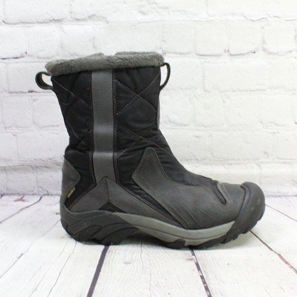 KEEN Black Keen Dry Warm 200 Gram Insulated Winter Boots Size 9.5